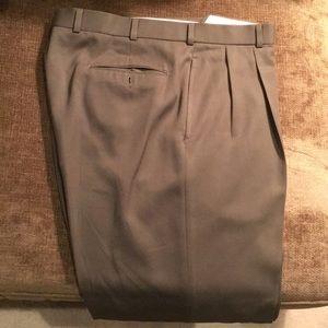 Men's wool olive pants